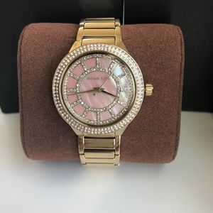 BRAND NEW Michael Kors Gold Kerry Watch MK3396